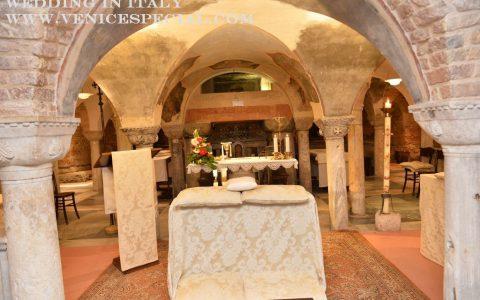 Ślub kościelny w Wenecji