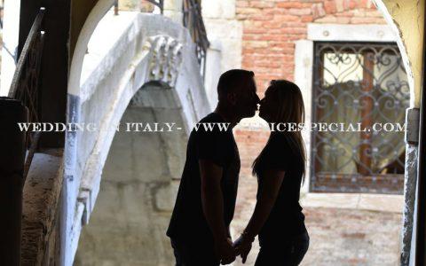 Zaręczyny we Włoszech- romantyczna Wenecja
