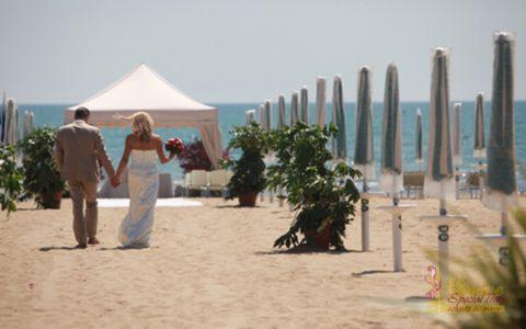 Ślub na plaży Jesolo Lido - zdjęcie 18
