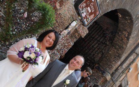 Romantyczne ceremonia ślubna we Włoszech