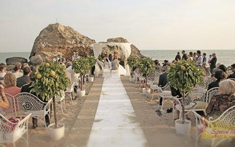 Ślub na sycylijskiej plaży - zdjęcie 01