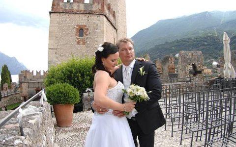 Malowniczy ślub nad jeziorem Garda - Malcesine - zdjęcie 02
