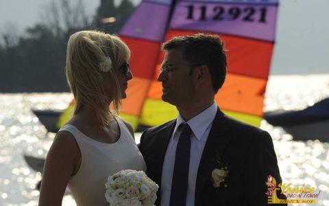 Malowniczy ślub nad jeziorem Garda - Malcesine - zdjęcie 03