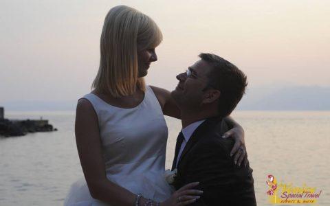 Malowniczy ślub nad jeziorem Garda - Malcesine - zdjęcie 04