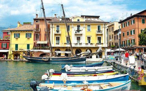 Malowniczy ślub nad jeziorem Garda - Malcesine - zdjęcie 10