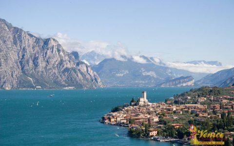 Malowniczy ślub nad jeziorem Garda - Malcesine - zdjęcie 13