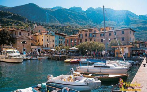 Malowniczy ślub nad jeziorem Garda - Malcesine - zdjęcie 14