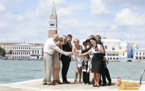 Romantyczny ślub w Wenecji - zdjęcie 01