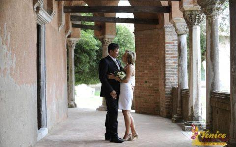 Romantyczny ślub w Wenecji - zdjęcie 03