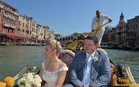 Romantyczny ślub w Wenecji - zdjęcie 14