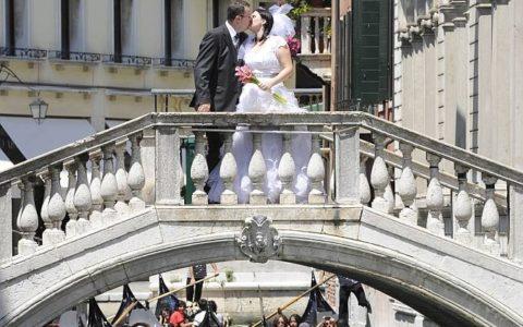 Ślub symboliczny w pałacu w Wenecji - zdjęcie-02