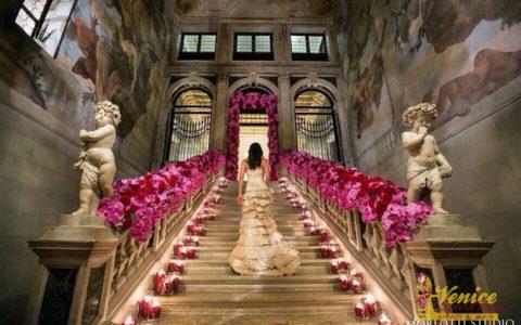 Ślub symboliczny w pałacu w Wenecji - zdjęcie-14