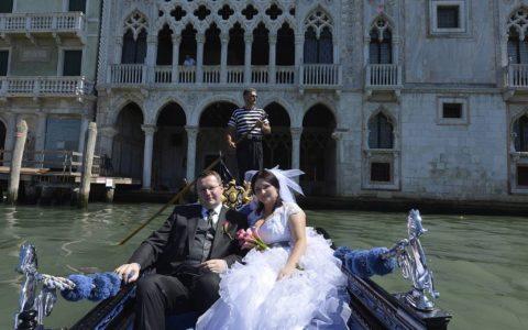 Ślub symboliczny w pałacu w Wenecji - zdjęcie-33