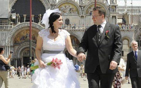 Ślub symboliczny w pałacu w Wenecji - zdjęcie-34