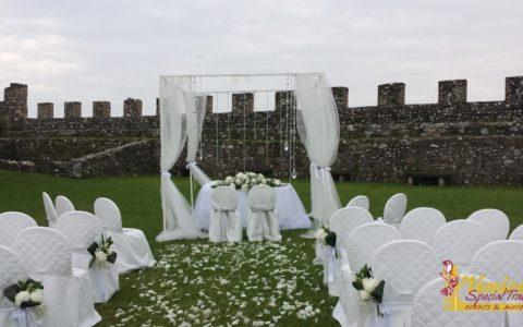 Ślub w sredniowiecznej twierdzy nad Jeziorem Garda - zdjęcie 03