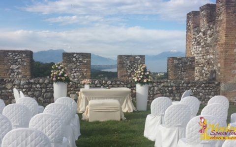 Ślub w sredniowiecznej twierdzy nad Jeziorem Garda - zdjęcie 04