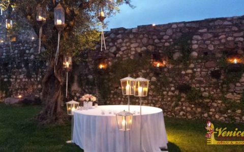 Ślub w sredniowiecznej twierdzy nad Jeziorem Garda - zdjęcie 05