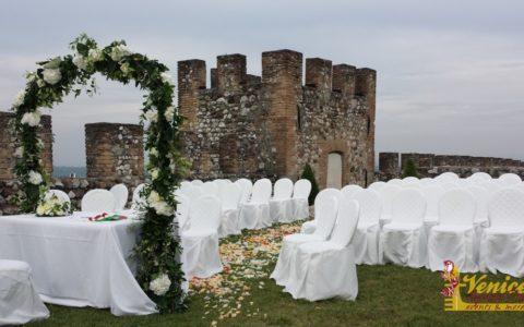 Ślub w sredniowiecznej twierdzy nad Jeziorem Garda - zdjęcie 08