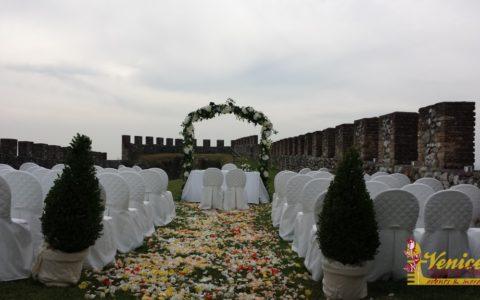 Ślub w sredniowiecznej twierdzy nad Jeziorem Garda - zdjęcie 09