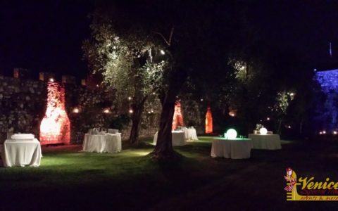 Ślub w sredniowiecznej twierdzy nad Jeziorem Garda - zdjęcie 11