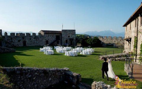 Ślub w sredniowiecznej twierdzy nad Jeziorem Garda - zdjęcie 17