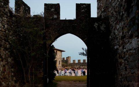 Ślub w sredniowiecznej twierdzy nad Jeziorem Garda - zdjęcie 18
