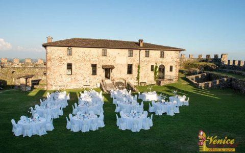 Ślub w sredniowiecznej twierdzy nad Jeziorem Garda - zdjęcie 20