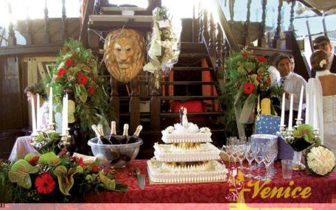 Ślub w Wenecji i szalone wesele w galeonie - zdjęcie 05