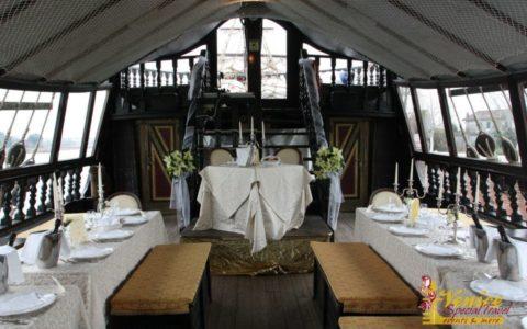 Ślub w Wenecji i szalone wesele w galeonie - zdjęcie 16