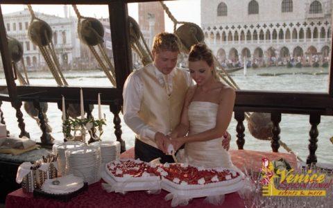 Ślub w Wenecji i szalone wesele w galeonie - zdjęcie 18