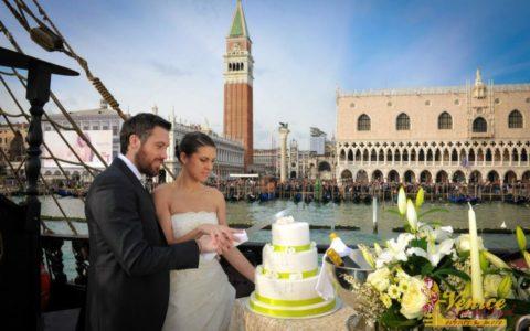 Ślub w Wenecji i szalone wesele w galeonie - zdjęcie 19