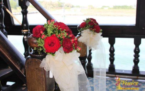 Ślub w Wenecji i szalone wesele w galeonie - zdjęcie 24
