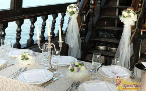 Ślub w Wenecji i szalone wesele w galeonie - zdjęcie 40