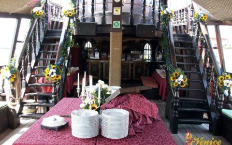 Ślub w Wenecji i szalone wesele w galeonie - zdjęcie 41