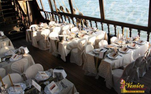 Ślub w Wenecji i szalone wesele w galeonie - zdjęcie 46