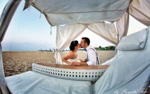 Ślub na plaży za granicą - Włochy