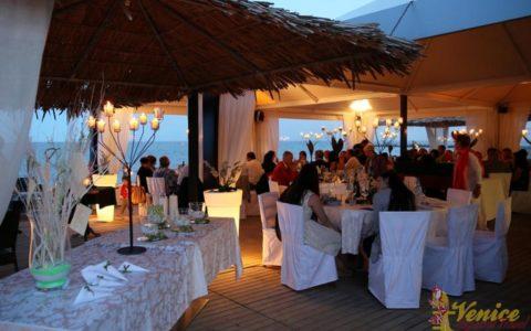 Ślub nad morzem - Włochy - VeniceSpecial - uczta